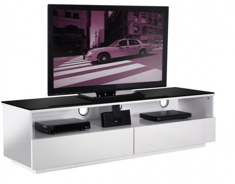 UK-CF High Gloss White Cabinet For TVs up to 60""