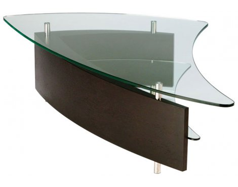 BDI Fin Espresso Stained Oak Coffee Table