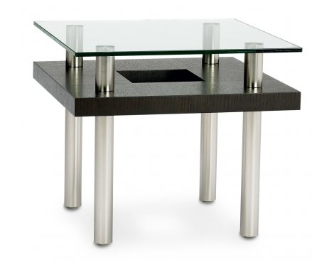 BDI Espresso Stained Oak End Table