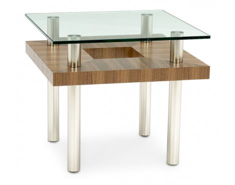 BDI Natural Stained Walnut End Table
