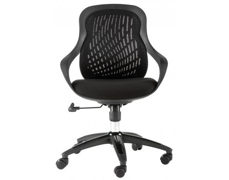 Black Designer Mesh Chair