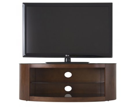 AVF Buckingham Walnut TV Stand for up to 55""