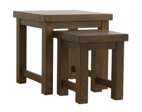 Mark Harris Barcelona Dark Oak Nest of Tables