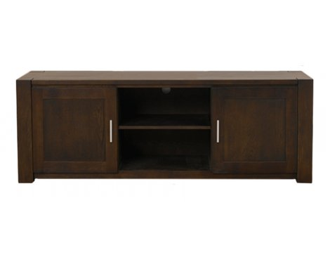 Mark Harris Verona Dark Oak TV Stand For Up To 65""