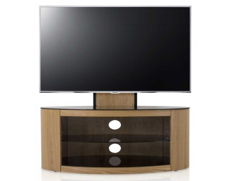 AVF FSL1000BUCO Buckingham Oak Cantilever TV Stand for up to 65""