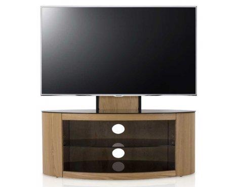 "AVF FSL1000BUCO Buckingham Oak Cantilever TV Stand for up to 65\"""