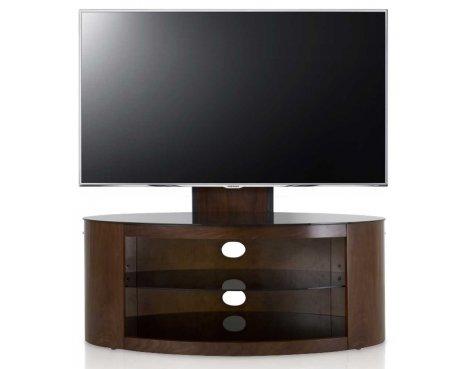 "AVF FSL1000BUCW Buckingham Walnut TV Stand With Mount for up to 65\"""