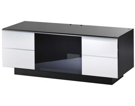 "UK-CF Ultimate White TV Stand For Up To 50"" TVs"