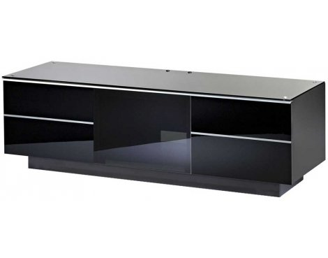 """UK-CF Ultimate Black TV Stand For Up To 65\"""" TVs"""