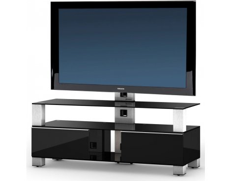 "Sonorous Mood TV Cabinet in Black for up to 50"" TVs"