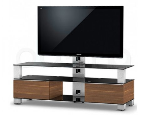"Sonorous Mood TV Cabinet in Walnut for up to 60"" TVs"