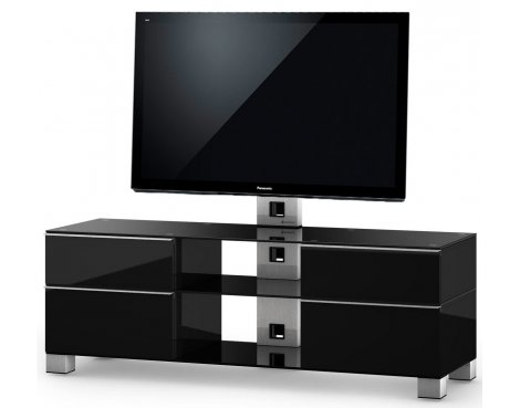 "Sonorous Mood TV Cabinet in Black for up to 60"" TVs"