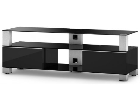 """Sonorous Mood TV Cabinet in Black for up to 60\"""" TVs"""