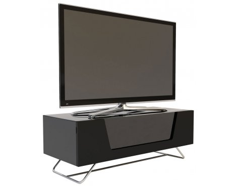 "Alphason Chromium Black TV Stand for up to 50"" TVs"
