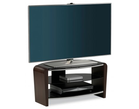 "Alphason Francium Walnut TV Stand for up to 37"" TVs"