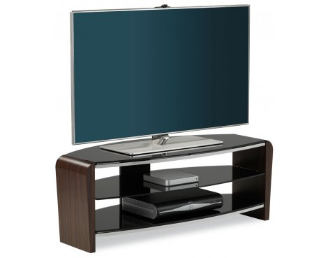 "Alphason Francium Walnut TV Stand for up to 50"" TVs"