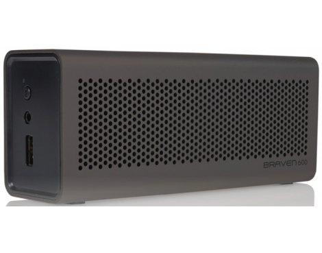 Braven Portable Wireless Speaker in Grey Aluminium