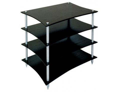 Quadraspire Q4EVO 4 Shelf Hi-Fi stand in Black