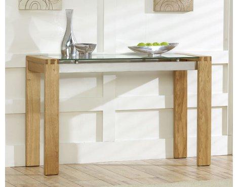 Mark Harris Roma Oak Console Table