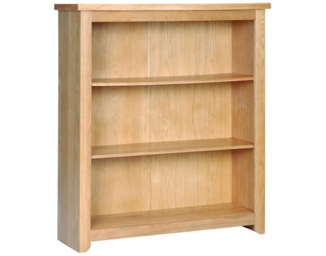 Hamilton Oak Effect Low Bookcase