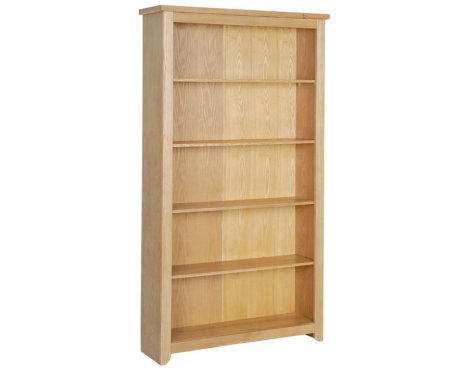 Hamilton Oak Effect Tall Bookcase