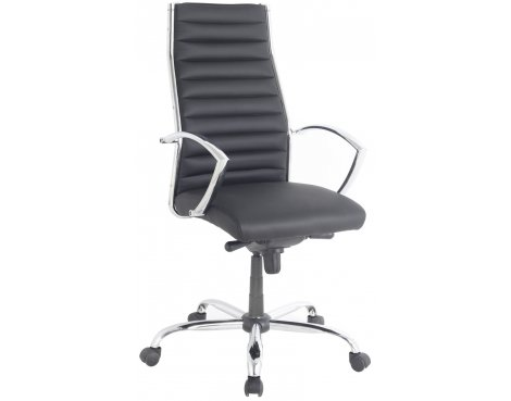 Alphason Hartford Black Swivel Office Chair