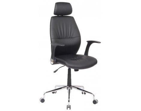 Alphason Parker Black Swivel Manager Chair