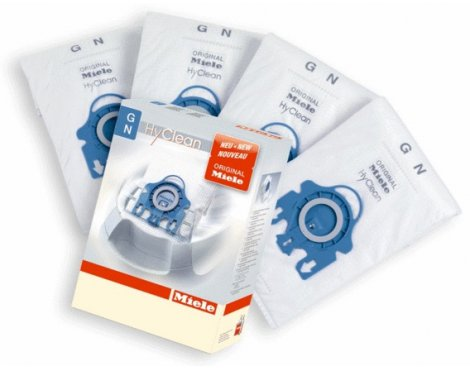 Miele GN Hyclean 3D Efficiency Dust Bag and Filter Pack (pack of 4)