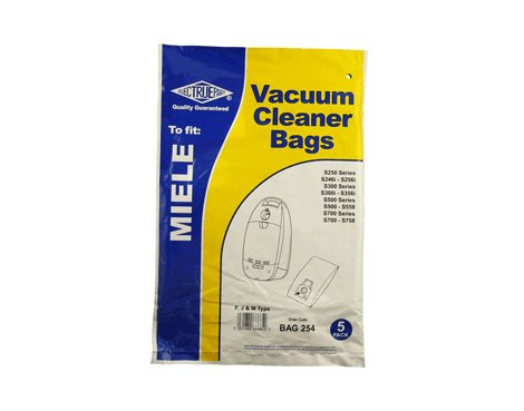 Electruepart FJM Paper Dust Bag for Miele Vacuum Cleaners