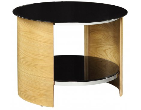 Jual JF303 Oak Round Lamp Table