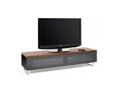 Techlink Panorama Walnut TV Stand