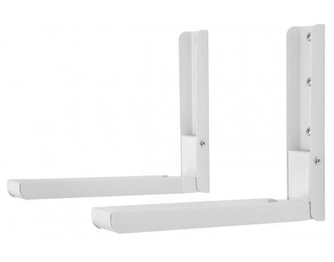 AVF EM60W White Microwave Bracket