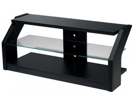 B-Tech Catabria Premium Gloss Black TV Stand