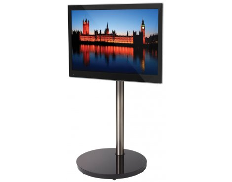 B-Tech Cantilever TV Stand with Round Base