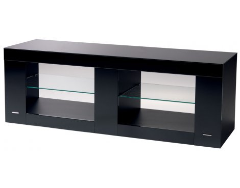 B-Tech Cantabria High Gloss Black TV Stand