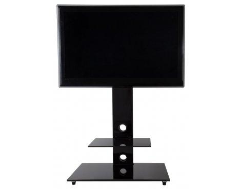 AVF Lesina Piano Black Cantilever TV Stand