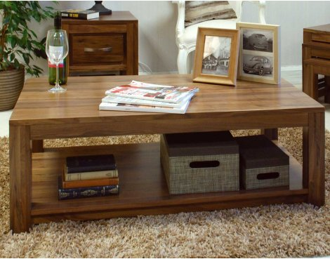Baumhaus CWC08C Mayan Walnut Coffee Table