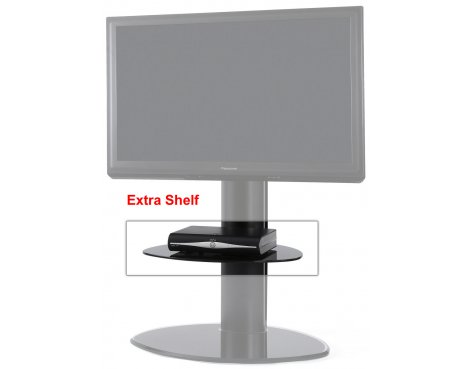 Extra Glass Shelf for Motion TV Stands