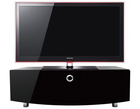 MDA Designs Curve 1000 TV Stand for up to 50 TVs - Black