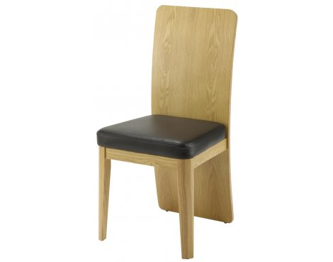 Jual JF601 Oak Dining Chair