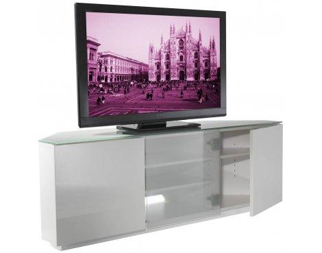 UK-CF Milan WHT/WHT TV Stand