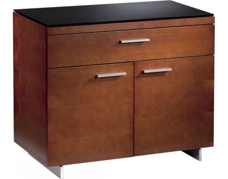 Sequel Storage Cabinet in Natural Stained Cherry