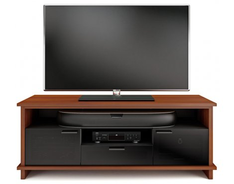 BDI Braden 8828 Natural Stained Cherry TV Cabinet