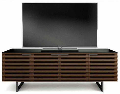 BDI Corridor Chocolate Stained Walnut TV Cabinet