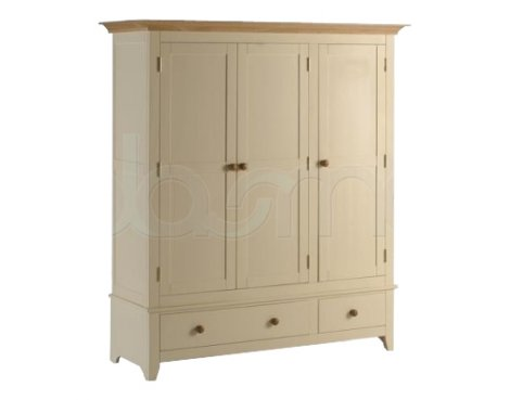Camden Wardrobe 3 Door 2 Drawer