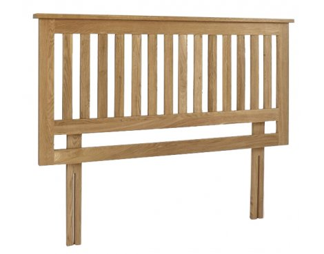Lansdown Oak Headboard - King