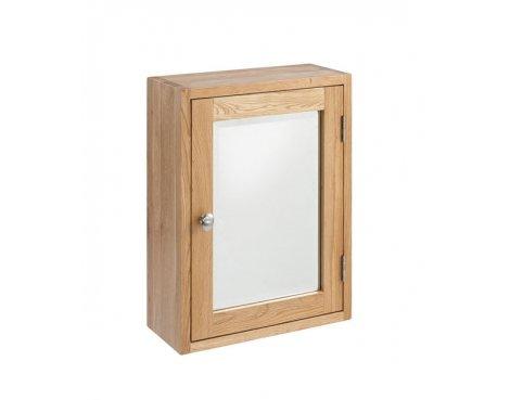 Lansdown Oak Single Bathroom Cabinet