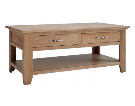 Sherwood Oak Coffee Table with Drawer