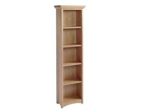 Sherwood Oak DVD/CD Cabinet With 4 Shelves