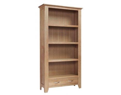 Sherwood Oak Large 2 Drawer Bookcase